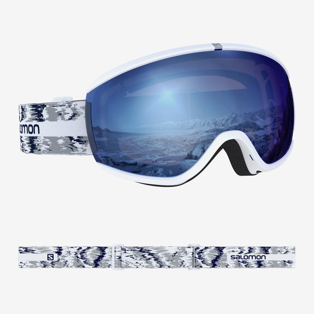 Ivy Goggles White Glitch