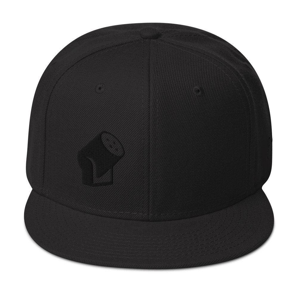 Midnight Snapback Hat
