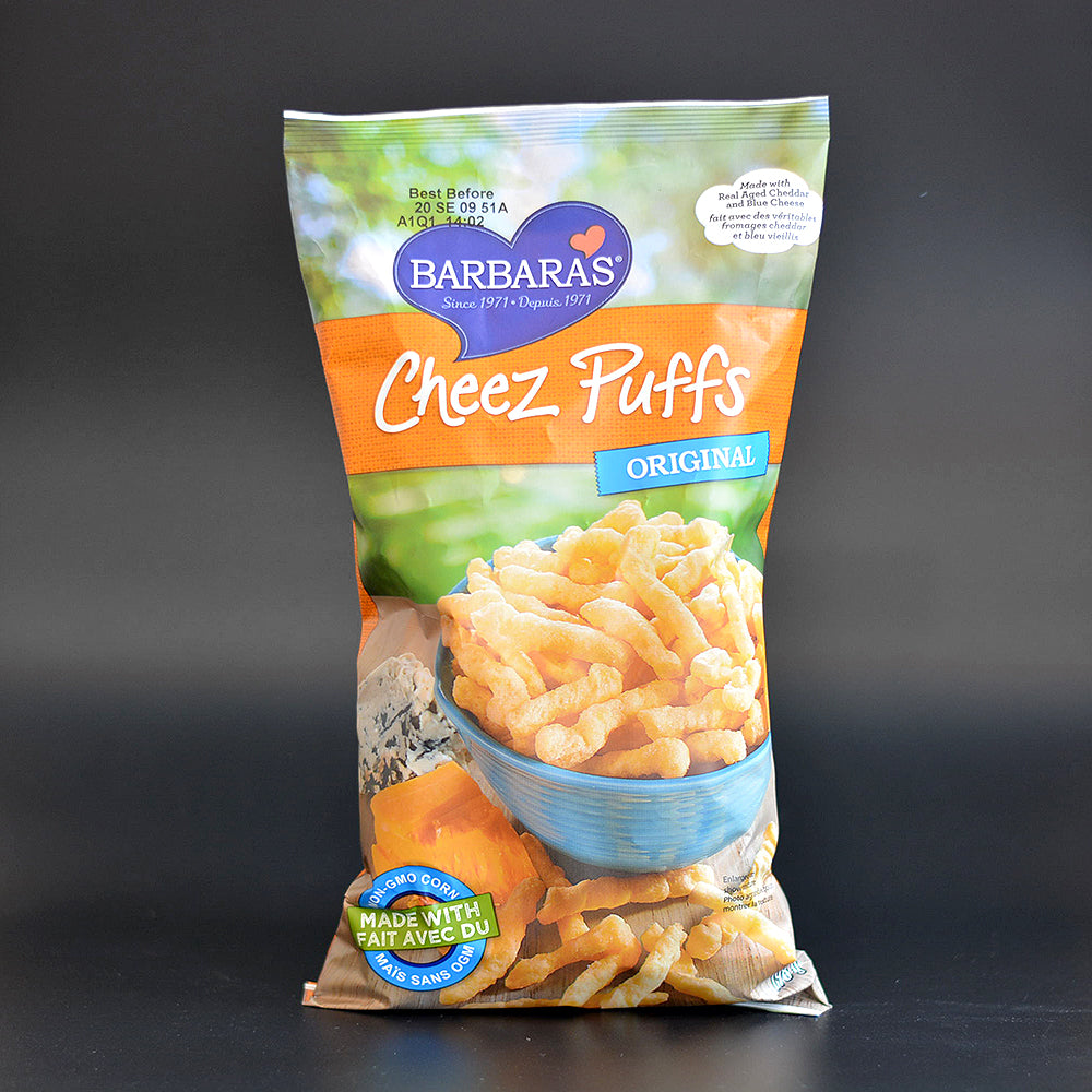 Barbaras Cheez Puffs 198g
