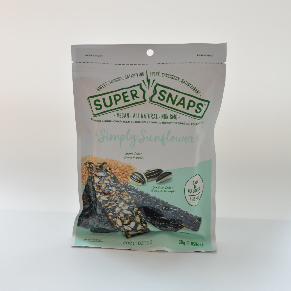 Super Snaps Seaweed & Almond Snack