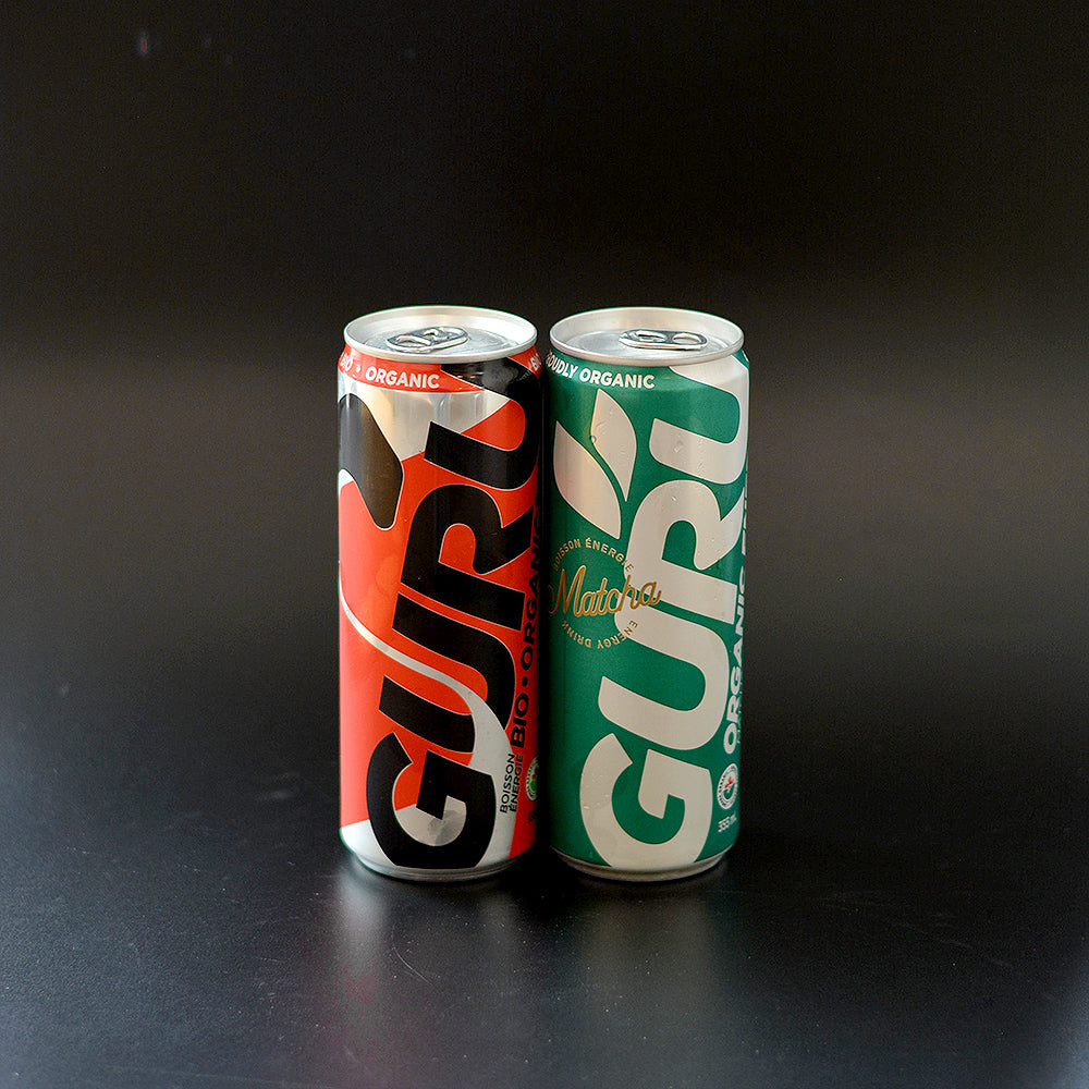 Guru Bio Organic Energy Drink 355ml