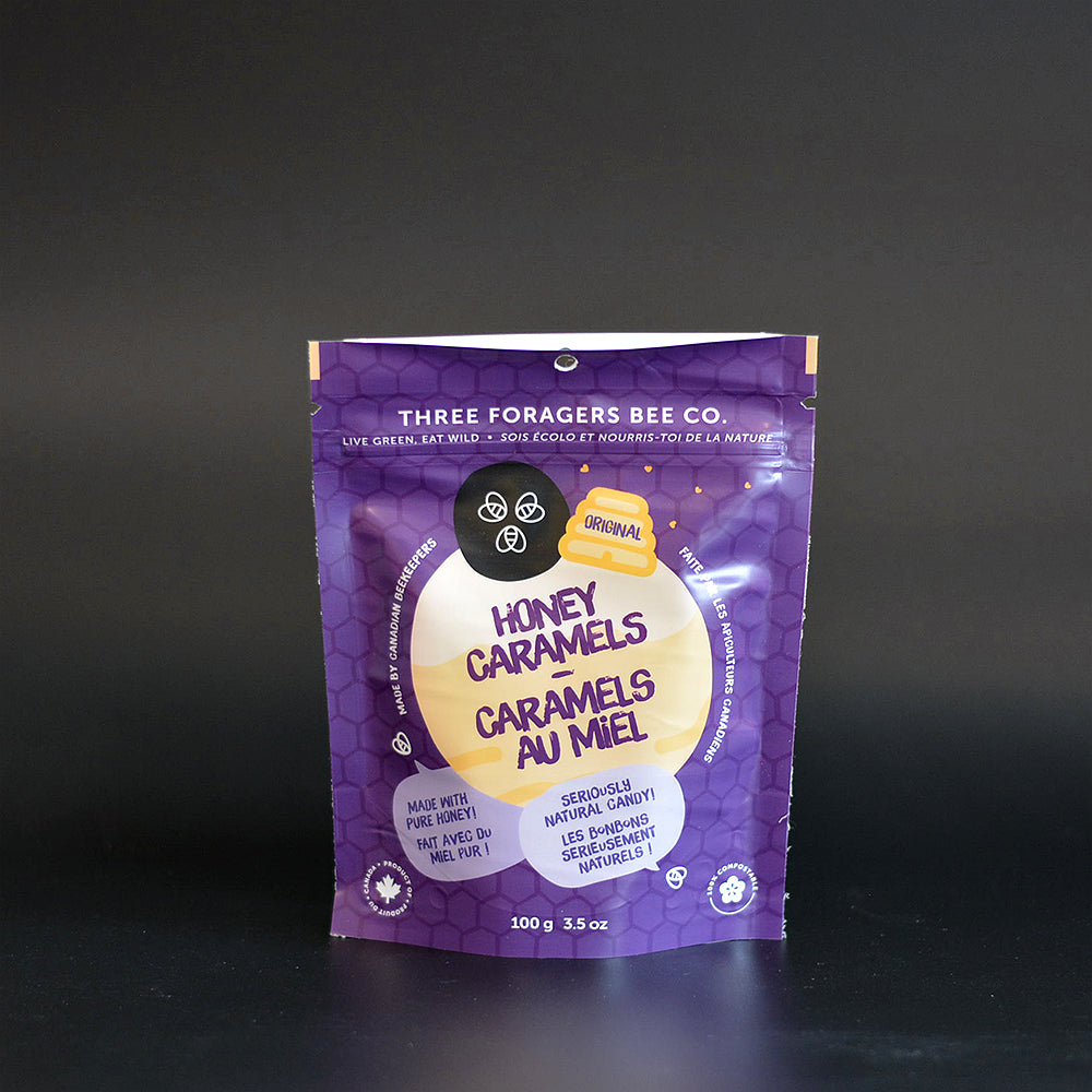 Three foragers bee co - Honey Caramels