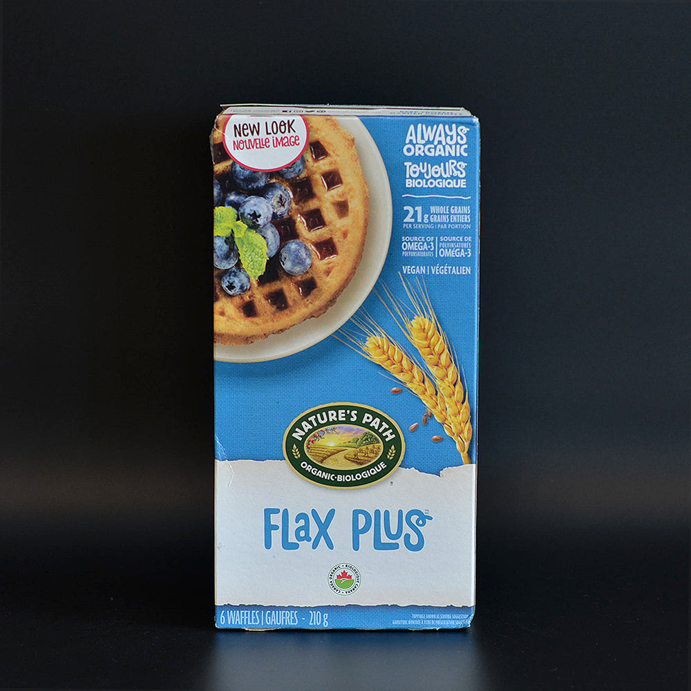 Nature's Path Frozen Waffle Flax Plus 210g