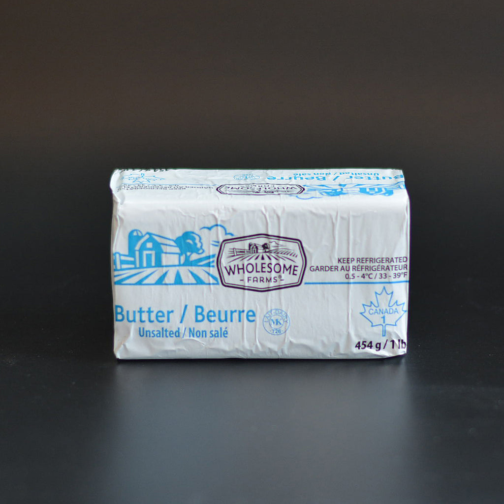 Wholesome Farms Unsalted Butter 454g