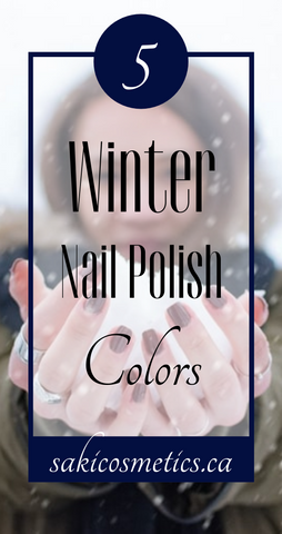 5 Winter Nail Polish Colors