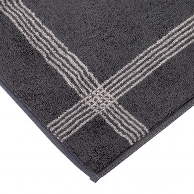 two tone bath mat