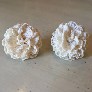 Cloth Flower Clip-Ons