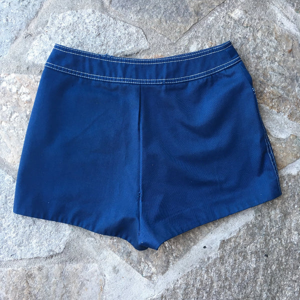 Patty Woodard Blue Shorts