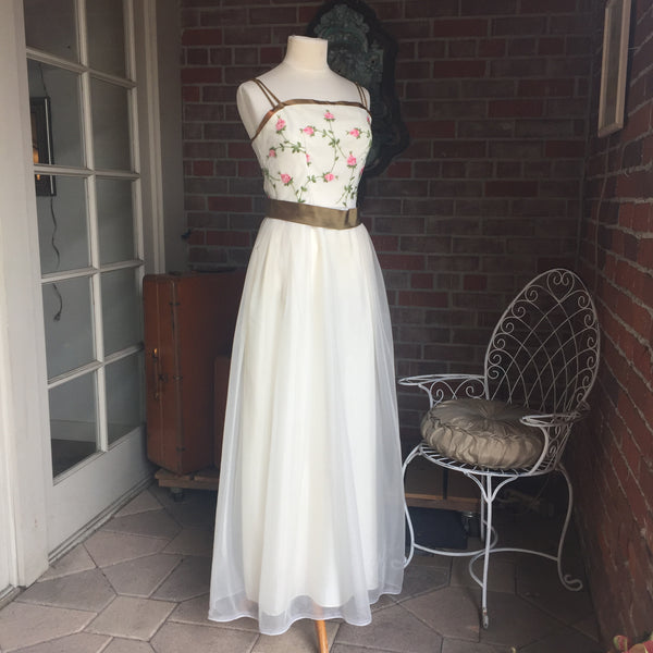 Rose Emma Domb Sweetheart Dress