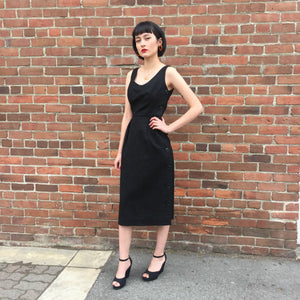 1950's Wool Sleeveless Dress