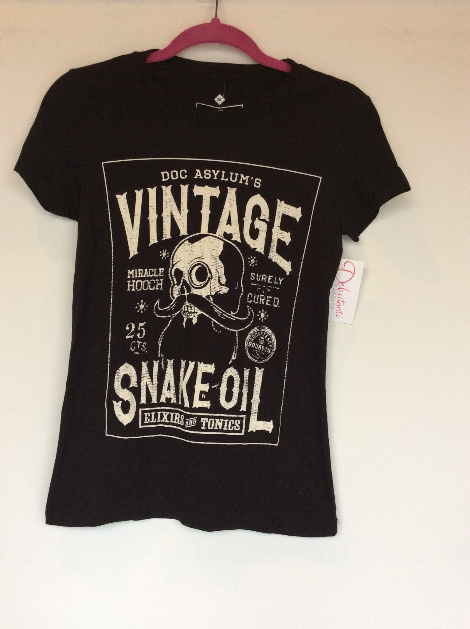 Steady Vintage Snake Oil T-Shirt