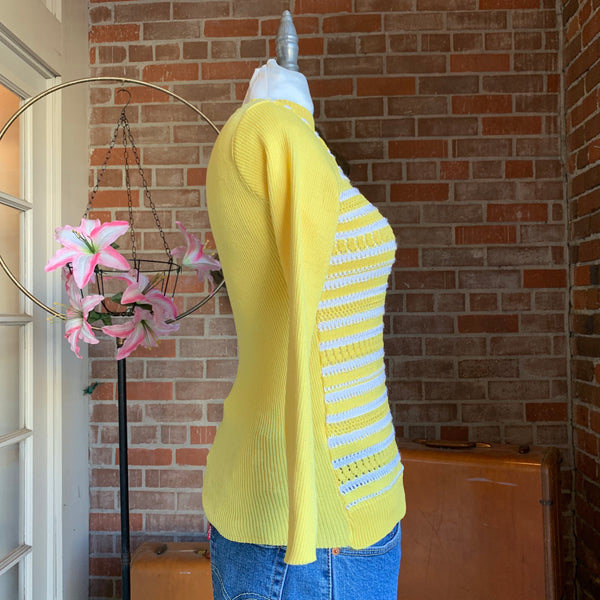 1960s Yellow Sweater