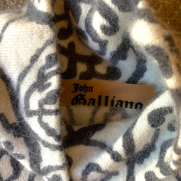 Vintage John Galliano Angora Sweater