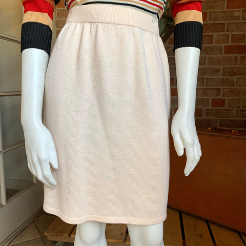 1980s St. John's Knit Skirt