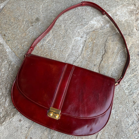 1970s Leather Handbag