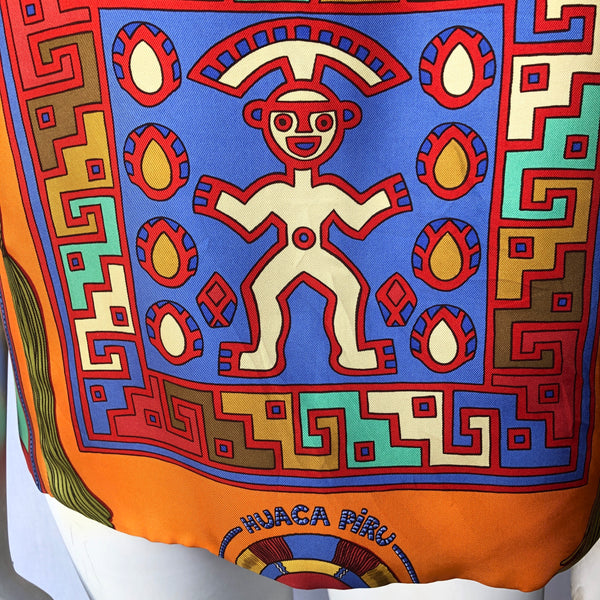 Authentic Hermès Scarf Top