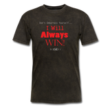 Exclusive Sports Favorite Always Win-T Shirt - The Indy City - King B. - mineral black