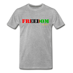 Freedom Premium T-Shirt - heather gray