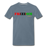 Freedom Premium T-Shirt - steel blue