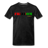 Freedom Premium T-Shirt - charcoal gray