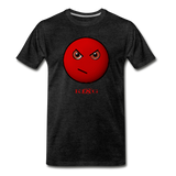 Cool, Streetwear Mad Emoji Short-Sleeve Unisex T-Shirt - The Indy City - King B. - charcoal gray