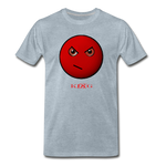 Cool, Streetwear Mad Emoji Short-Sleeve Unisex T-Shirt - The Indy City - King B. - heather ice blue