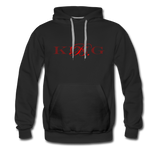 Graphic Fashion Brand Streetwear Unisex Hoodie -The Indy City- King B. - black