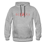 Graphic Fashion Brand Streetwear Unisex Hoodie -The Indy City- King B. - heather gray