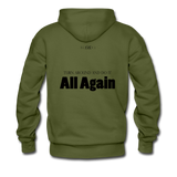 Streetwear, Workout All Day Unisex Hoodie - The Indy City - King B. - olive green