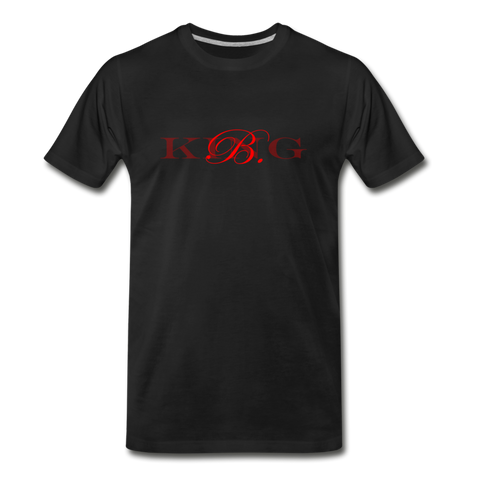 Graphic Fashion Brand Streetwear Short-Sleeve Unisex T-Shirt -The Indy City- King B. - black