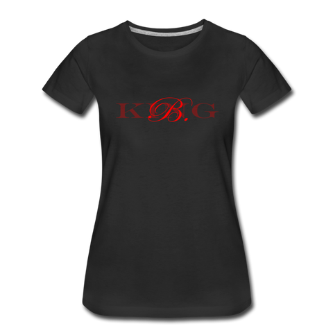 Graphic Fashion Brand Streetwear Short-Sleeve Women's T-Shirt -The Indy City- King B. - black