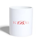 King B. Brand Coffee/Tea Mug - white