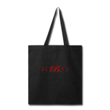 King B. Brand Tote Bag - black