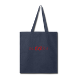 King B. Brand Tote Bag - navy