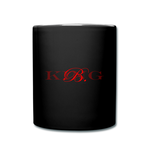 King B. Brand Full Color Mug - black