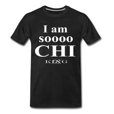 Graphic Streetwear So Chi Short-Sleeve Unisex T-Shirt -The Indy City- King B. - black