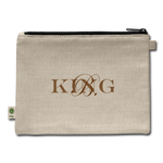 King B. Brand Carry All Pouch - natural