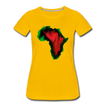 Kush Women's Premium T-Shirt - sun yellow