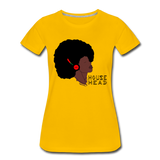 House Head Women's Premium T-Shirt - sun yellow