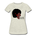 House Head Women's Premium T-Shirt - heather oatmeal