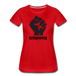 Superpower Women's Premium T-Shirt - red