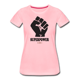 Superpower Women's Premium T-Shirt - pink