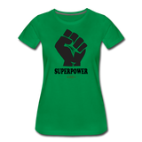 Superpower Women's Premium T-Shirt - kelly green