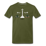 Scales Men's Premium T-Shirt - olive green