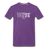 Same 24 Premium T-Shirt - purple