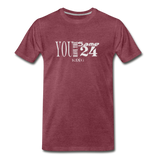 Same 24 Premium T-Shirt - heather burgundy