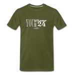 Same 24 Premium T-Shirt - olive green