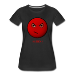 King B. Mad Emoji Women's Premium T-Shirt - black