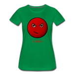 King B. Mad Emoji Women's Premium T-Shirt - kelly green