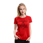 King B Hustle Women's Premium T-Shirt - red